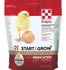 PURINA MILLS, INC. START N GROW MED 5#