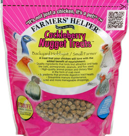 C AND S PRODUCTS CO INC P FARMERS HELPER CACKLEBERRY NUGGET TREATS
