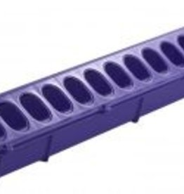 MILLER MANUFACTURING LITTLE GIANT FLIP-TOP FEEDER FOR POULTRY PURPLE