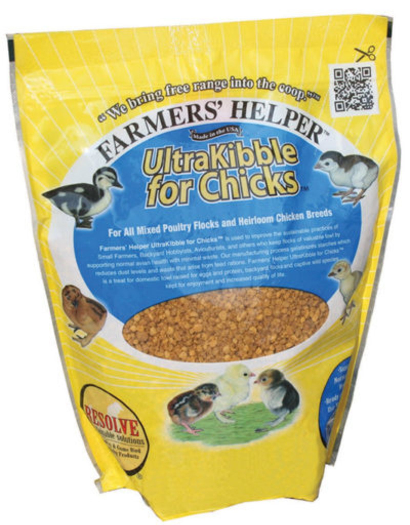 C AND S PRODUCTS CO INC P FARMERS' HELPER ULTRAKIBBLE FOR CHICKS 36OZ