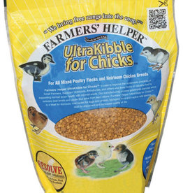 C AND S PRODUCTS CO INC P FARMER S HELPER ULTRAKIBBLE FOR CHICKS 36OZ