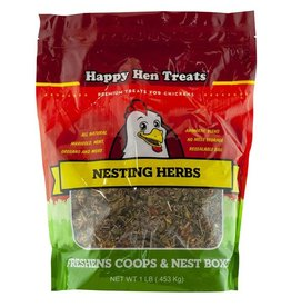 DURVET - HAPPY HEN    D HAPPY HEN TREAT NESTING HERBS 1LB