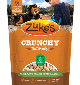 ZUKES CRUNCHY NATURAL PEANUT BUTTER & APPLES 12oz