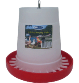 MILLSIDE INDUSTRIES PLASTIC POULTRY FEEDER 6LB