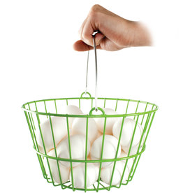 WARE MANUFACTURING INC EGG BASKET GREEN