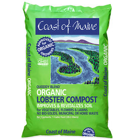 COAST OF MAINE LOBSTER COMPOST COAST OF MAINE 1 CU FT QUODDY