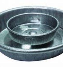 MILLER MANUFACTURING WATERER BASE GALV FOR QUART JAR