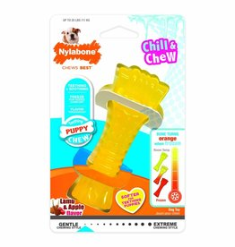 NYLABONE CORP NYLABONE PUPPY CHILL N CHEW LAMB & APPLE REG