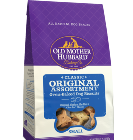WELLPET LLC OLD MOTHER HUBBARD BISCUITS ASSORTED MINI 20LBS