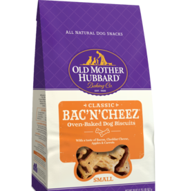WELLPET LLC OLD MOTHER HUBBARD BISC 3.2LB BAC'N'CHEEZ LARGE