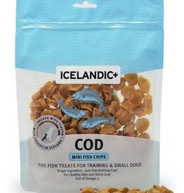 ICELANDICPLUS EHF ICELANDIC DOG COD CHIPS MINI 3OZ