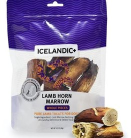 ICELANDICPLUS EHF ICELANDIC DOG LAMB MARROW WHOLE 4.5OZ