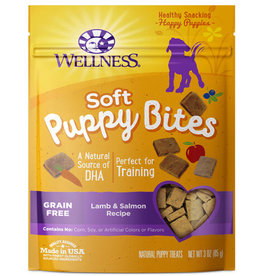 WELLPET LLC WELLNESS SOFT PUPPY BITES LAMB & SALMON 3OZ