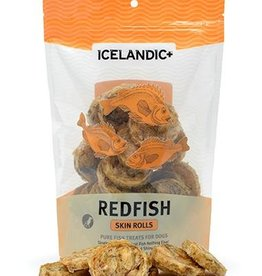 ICELANDICPLUS EHF ICELANDIC TREAT REDFISH SKIN ROLLS 3OZ
