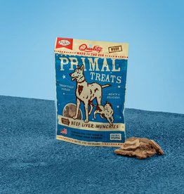 PRIMAL PET FOODS PRIMAL BEEF LIVER MUNCHIE TREAT 2OZ