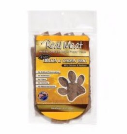 THE REAL MEAT CO REAL MEAT DOG JERKY TREAT CHICKEN/VENISON 8OZ