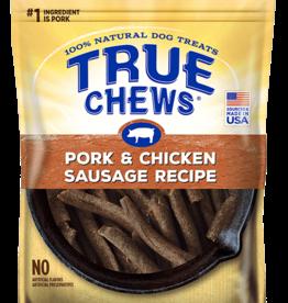 TYSON PET PRODUCTS INC TRUE CHEWS PORK & CHICKEN SAUSAGE RECIPE 14OZ