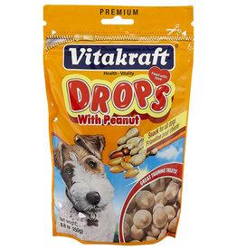 VITAKRAFT SUN SEED, INC. VITAKRAFT DOG PEANUT DROPS 8.8OZ