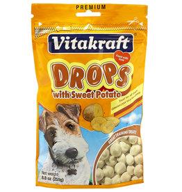 VITAKRAFT SUN SEED, INC. VITAKRAFT DOG SWEET POTATO DROPS 8.8OZ
