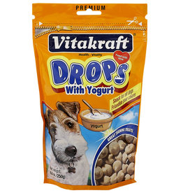 VITAKRAFT SUN SEED, INC. VITAKRAFT DOG YOGURT DROPS 8.8OZ