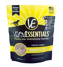 Carnivore Meat Company LLC VITAL ESSENTIALS FREEZE DRIED ENTREE DUCK MINI NIBS 1LB