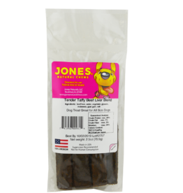 JONES NATURAL CHEWS CO JONES NATURAL TENDER TAFFY BEEF LIVER 2 PACK