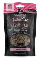 Carnivore Meat Company LLC VITAL ESSENTIALS VITAL CAT CHICKEN GIBLETS 1OZ