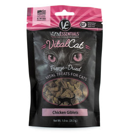 Carnivore Meat Company LLC VITAL ESSENTIALS VITAL CAT CHICKEN GIBLETS 1OZ