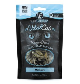 Carnivore Meat Company LLC VITAL ESSENTIALS VITAL CAT MINNOWS .5OZ