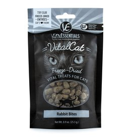 Carnivore Meat Company LLC VITAL ESSENTIALS VITAL CAT RABBIT BITES .9OZ