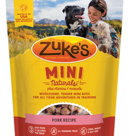 ZUKES MINI NATURAL ROASTED PORK TREAT 6OZ