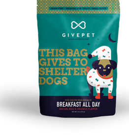GIVE PET DOG BREAKFAST ALL DAY 12OZ DISCONTINUED PVFF