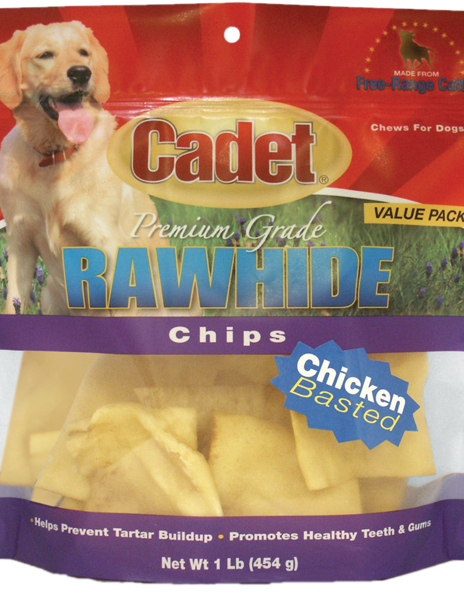 IMS TRADING CORPORATION CADET RAWHIDE CHICKEN CHIPS 1LB