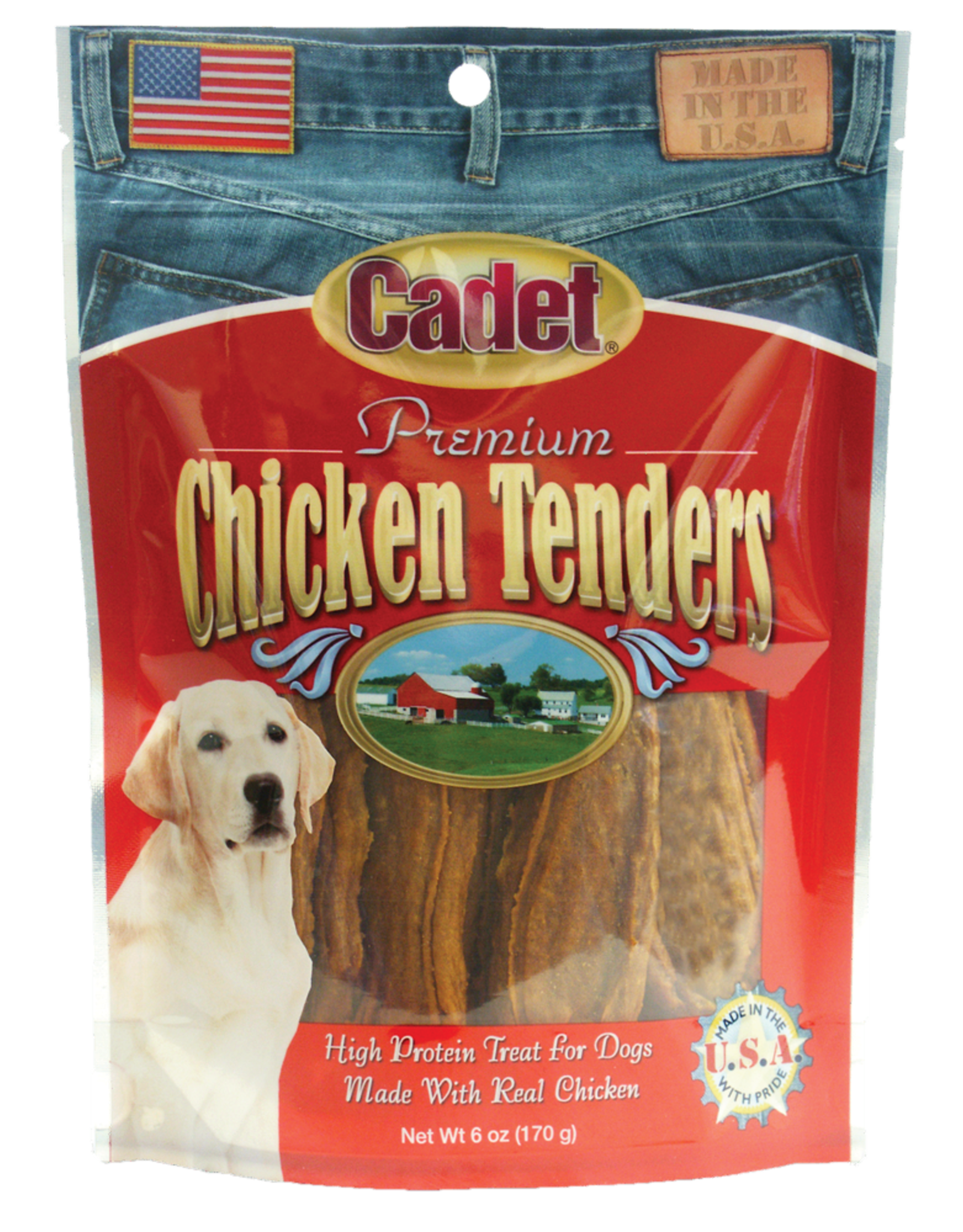 IMS TRADING CORPORATION CADET PREMIUM CHICKEN TENDERS DOG TREATS 1#