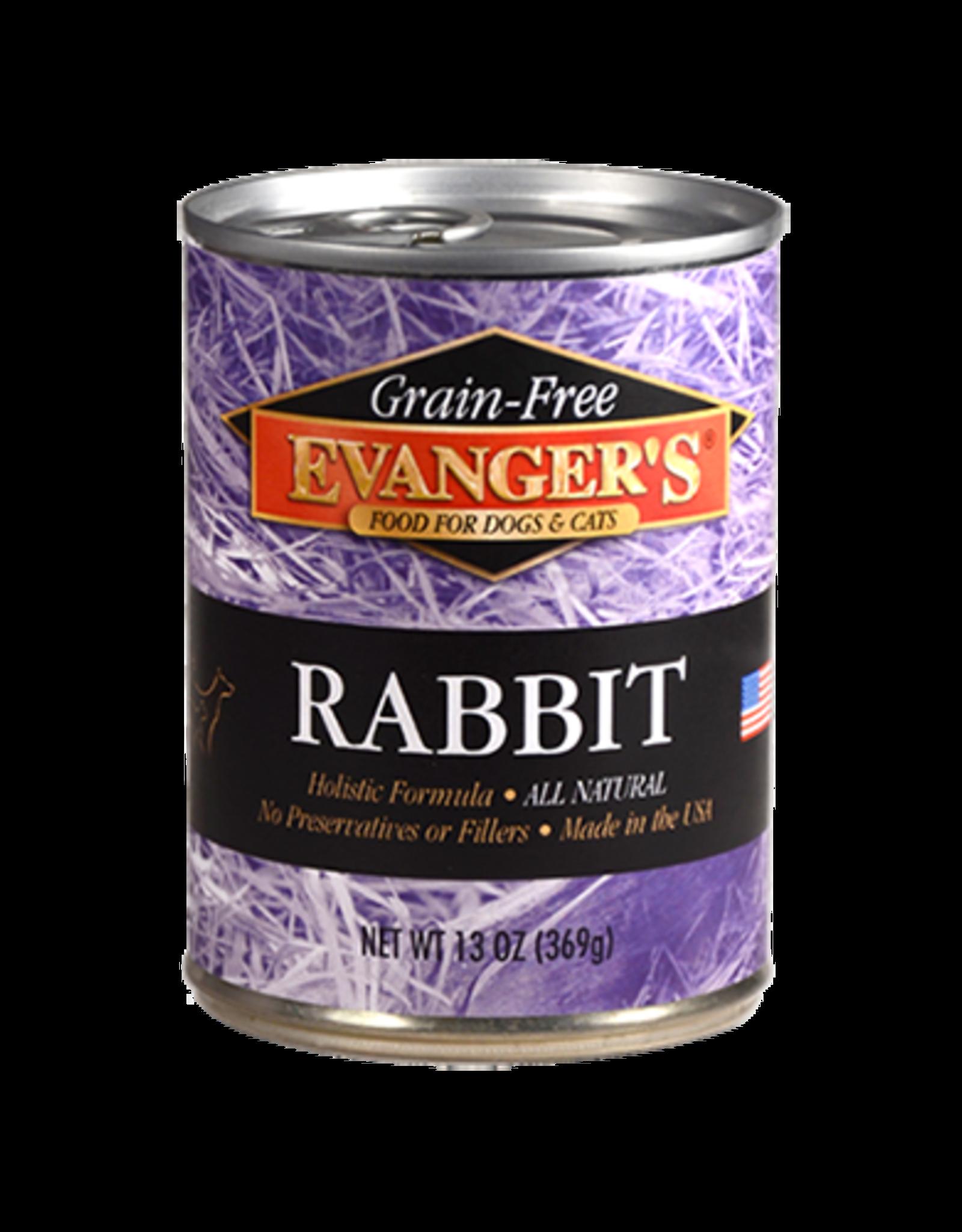 EVANGER'S EVANGERS RABBIT 13OZ CAN