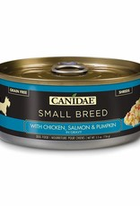 CANIDAE PET FOODS CANIDAE CAN DOG SMALL BREED CHICKEN, SALMON & PUMPKIN IN GRAVY 5.5OZ CASE OF 24