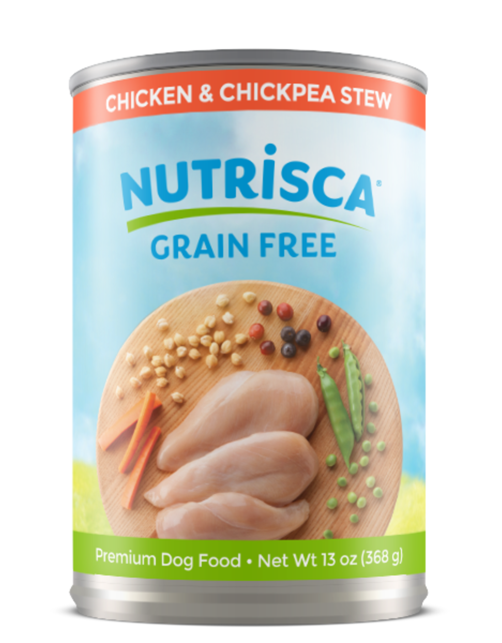 DOGSWELL, LLC DOGSWELL NUTRISCA DOG CHICKEN & CHICKPEA CAN 13OZ
