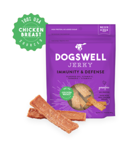 DOGSWELL, LLC DOGSWELL IMMUNITY DEFENSE CHICKEN JERKY 12OZ