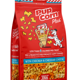 TRIUMPH PET-SUNSHINE MILL PUPCORN PLUS DOG TREATS CHICKEN & CHEDDAR 27OZ