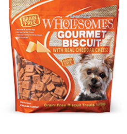 SPORTMIX GRAIN FREE GOURMET CHEDDAR CHEESE BISCUIT 3LBS