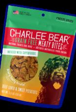 CHARLEE BEAR CHARLEE BEAR DOG MEATY BITES BEEF LIVER & SWEET POTATO 5OZ pvfd