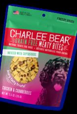 CHARLEE BEAR CHARLEE BEAR DOG MEATY BITES CHICKEN & CRANBERRIES 2.5OZ