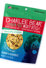 CHARLEE BEAR CHARLEE BEAR DOG MEATY BITES CHICKEN & BLUEBERRY 5OZ
