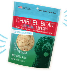 CHARLEE BEAR CHARLEE BEAR DOG TREATS CHEESE & EGG 6 OZ