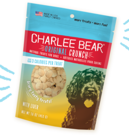 CHARLEE BEAR CHARLEE BEAR DOG TREATS LIVER 6OZ