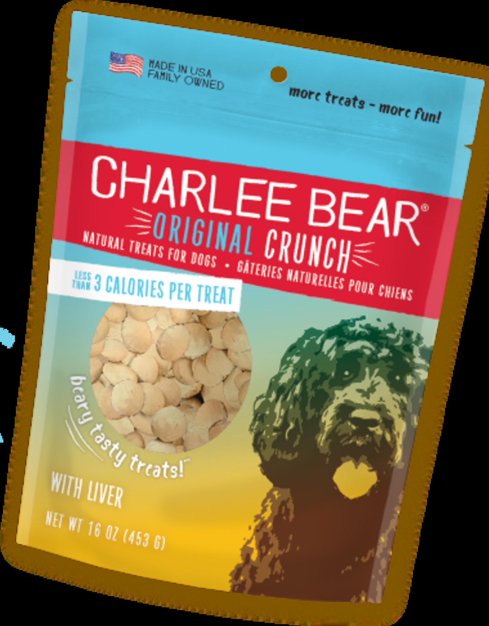 CHARLEE BEAR CHARLEE BEAR DOG TREATS LIVER 16OZ
