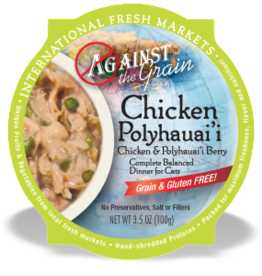 EVANGER'S EVANGERS CAT ATG CHICKEN POLYHAUAII BERRY 3.5OZ