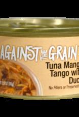EVANGER'S EVANGERS CAT AGAINST GRAIN TUNA MANGO TANGO DUCK TUB 12/3.5 OZ