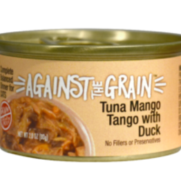 EVANGER'S EVANGERS CAT AGAINST GRAIN TUNA MANGO TANGO DUCK TUB 12/3.5 OZ