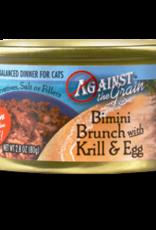 EVANGER'S EVANGERS CAT ATG BIMINI BRUNCH W/KRILL & EGG 2.8OZ